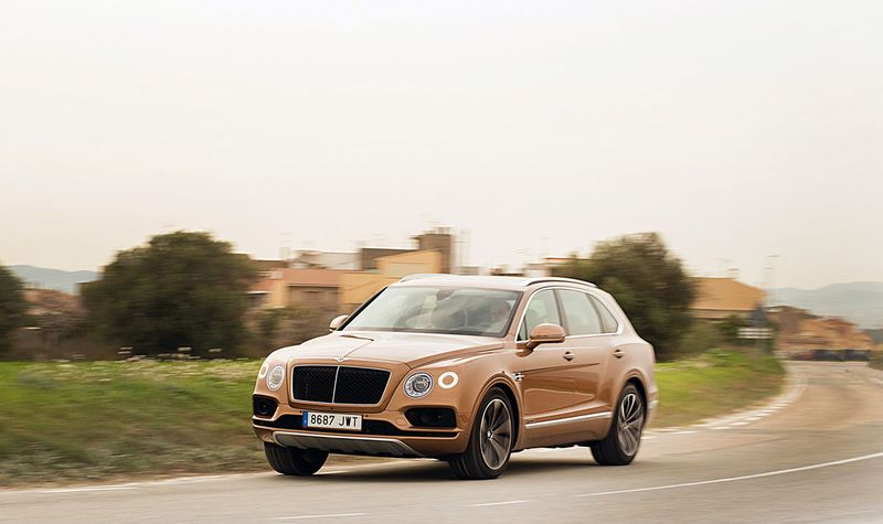 Bentley Bentayga Diesel - Foto: Luxury News