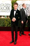 Eddie Redmayne Wears Chopard To The 72nd Golden Globes Awards, Los Angeles, January 11th 2015 1