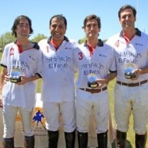 Shakib Polo Team campeón en Santa María Polo Club de Sotogrande