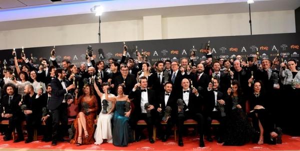 Los Premios Goya de la Academia Española de Cine (fotos)