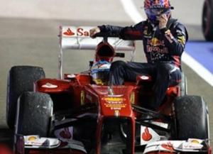 Gran Premio de Singapur - Sensacional carrera de Alonso que finaliza segundo tras Vettel