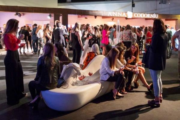 Anna de Codorniu 66ª edición de la Mercedes-Benz Fashion Week Madrid