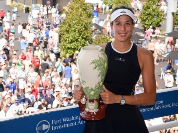 Garbiñe Muguruza conquista el título WTA en Cincinnati y sube al número 3 mundial