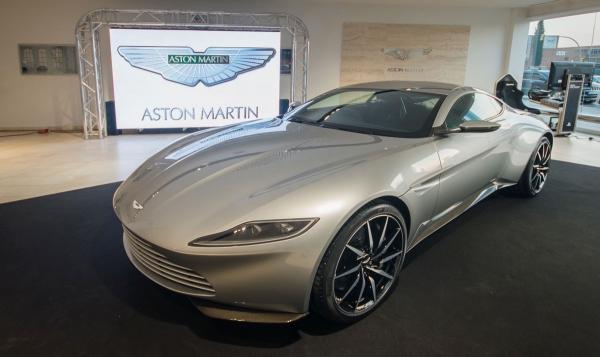 Aston Martin DB10, un coche para James Bond