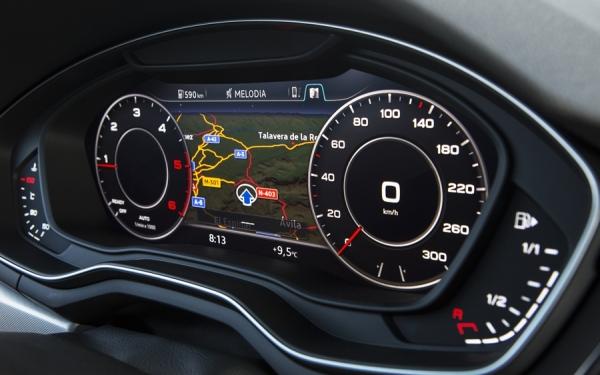 Virtual Cockpit del nuevo Audi A4