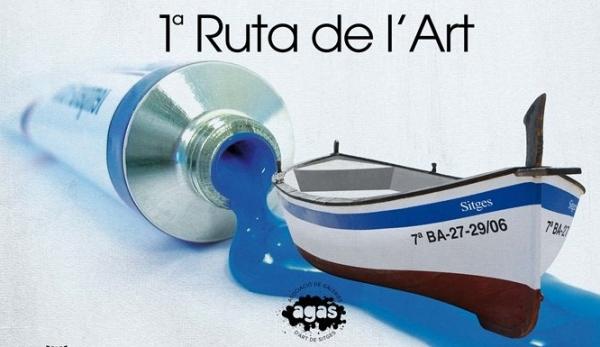 Art Sitges Weekend: La Asociación de Galerías de Arte de Sitges (AGAS) presenta la Primera Ruta del Arte de Sitges