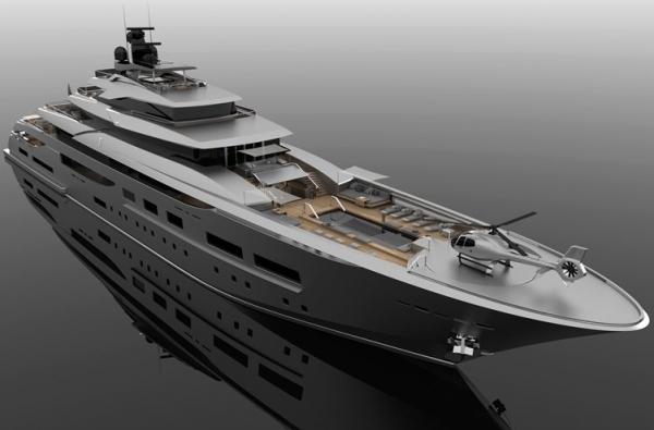 Zuccon Superyacht Diseño 94M TETI
