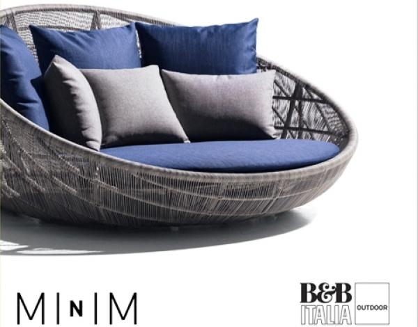 MINIM Y B&B ITALIA presentan la nueva colección de muebles para exterior de Patricia Urquiola