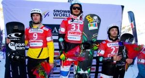 Lucas Eguibar 2º en la Copa del Mundo de Snowboard Cross disputada en Vallnord (Andorra)