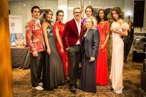 Antonio Garrido presenta tendencias en peluqueria y maquillaje