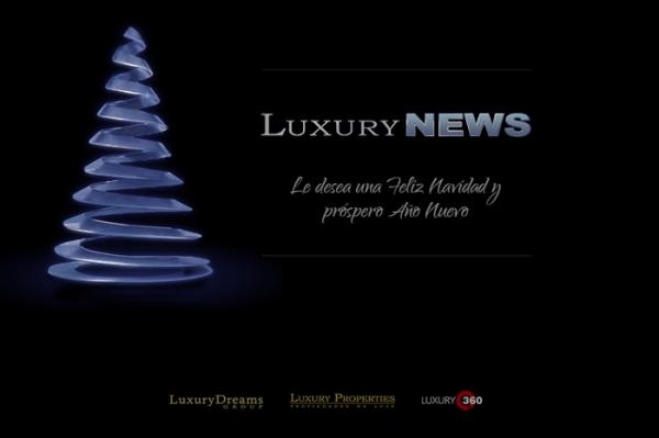 Luxury News os desea un prospero año nuevo 2015. Felices Fiestas !!!