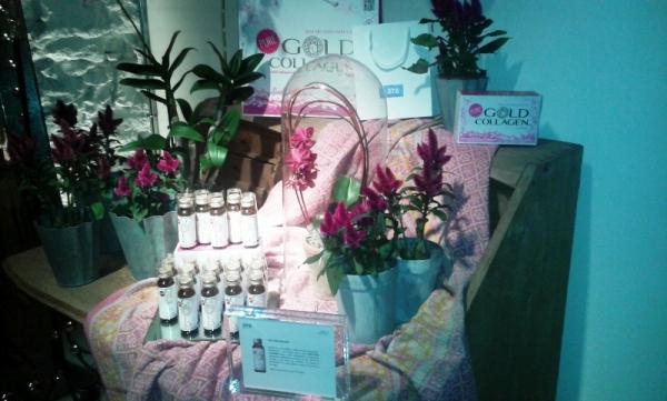 Presentación Gold Collagen, belleza y salud con colágeno hidrolizado bebible