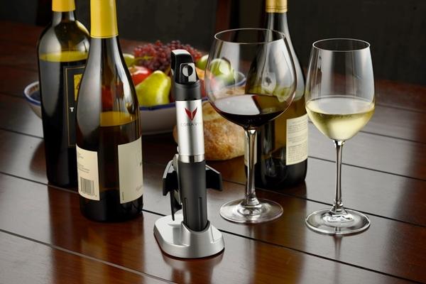 Coravin permite traer al presente vinos del pasado