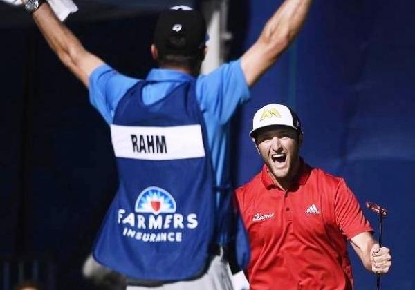 Rahm emerge como una nueva estrella del golf