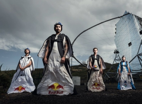 Saltadores fugaces sobrevuelan la  isla de La Palma