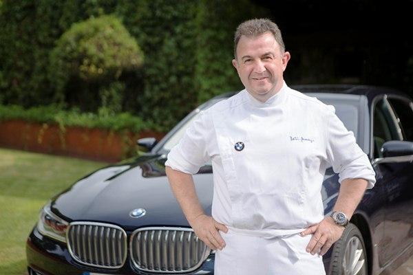 Martín Berasategui, nuevo embajador de BMW