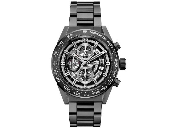 Reloj TAG Heuer CARRERA HEUER-01 Full Black cerámica