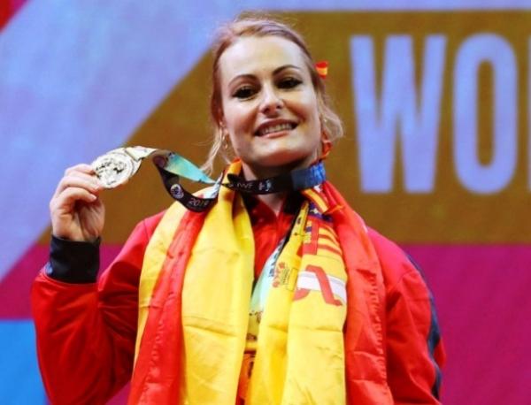 Lydia Valentín, subcampeona del Mundo en halterofila