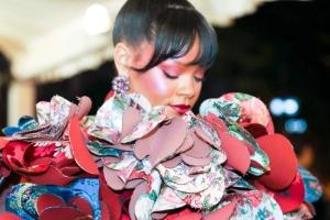 Rihanna con joyas Chopard