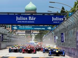 Fórmula ePrix: Lucas DI GRASSI con el ABT Schaeffler Audi Sport vencedor del YCM Putrajaya