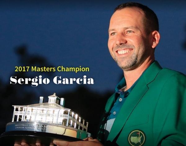Sergio García conquista el Masters de Augusta y entra en el olimpo de los mejores jugadores de golf