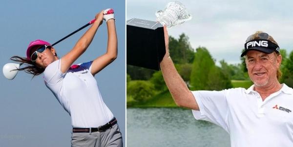 Miguel Ángel Jiménez obtiene su cuarta victoria en el Golf Champions Tour y Segunda plaza de Mireia Prat en el LET Access Series