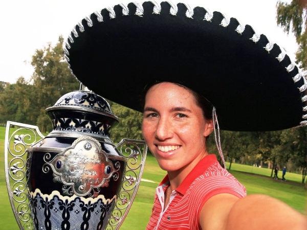 Carlota Ciganda conquista el torneo Lorena Ochoa Invitational de México