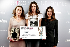 Nuria Farré, Elisabeth Crystal y Heike Schwarz