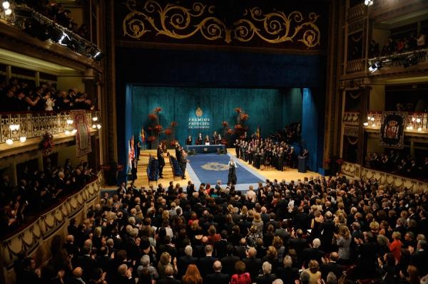 Entrega de los Premios Principe de Asturias 2012