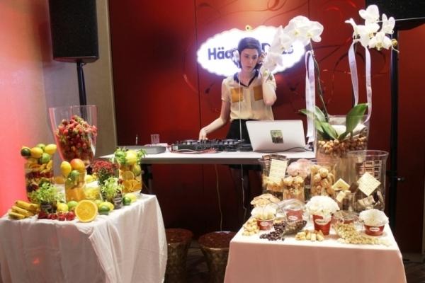 Häagen‐Dazs presentó su nuevo concepto de tiendas en Barcelona al ritmo de Brianda Fitz - James