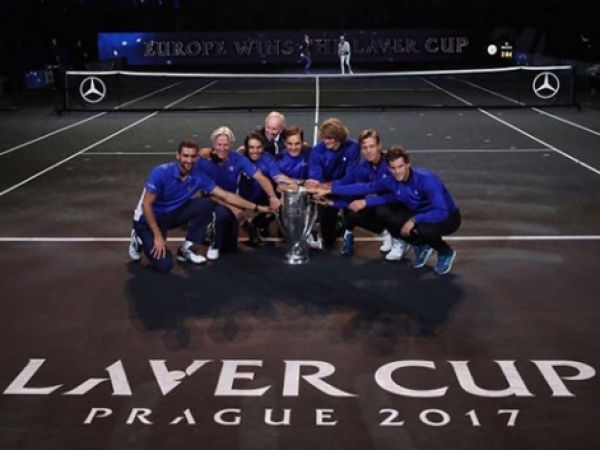 Nadal gana la primera Laver Cup con el equipo de Europa