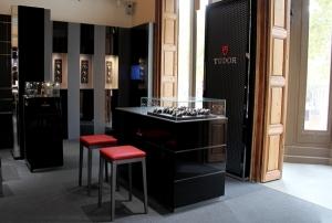 Espacio Tudor en la Joyería Rabat de Barcelona