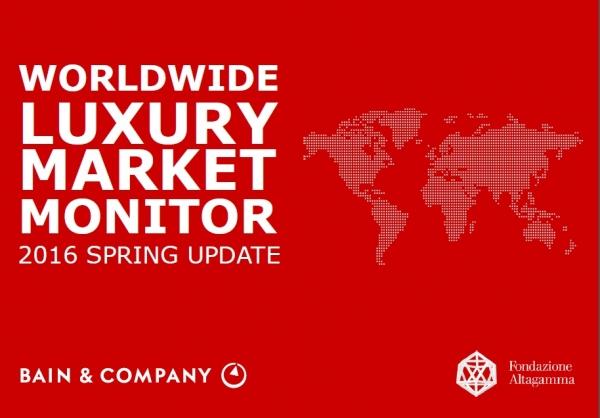 Worldwilde Luxury Market Monitor 2016: el inicio de una nueva era en el sector del lujo