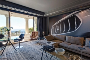 Suite Maserati en el Hotel de Paris (Montecarlo - Mónaco)