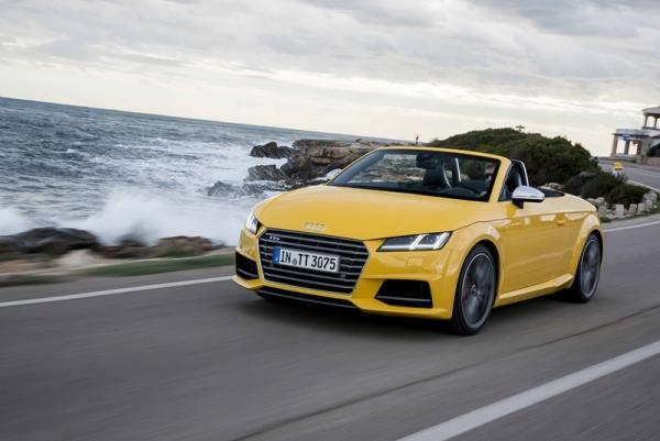 Llega el nuevo Audi TTS Roadster