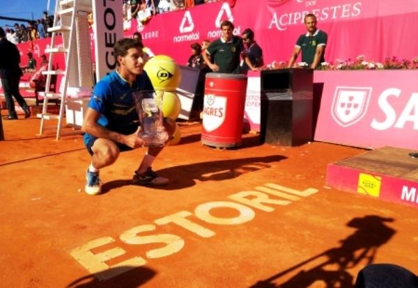 Pablo carreño se impone en el torneo de tenis ATP de Estoril