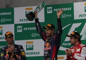 Gran Premio de Brasil - Alonso terecero y Vettel vuelve a ganar en la última carrera de la temporada