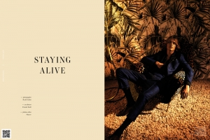 Staying Alive, video editorial de moda