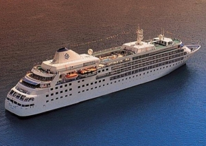 Crucero de lujo Silver Cloud