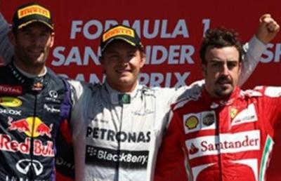 Gran Premio de Gran Bretaña - Alonso tercero en Silverstone