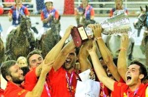 El equipo español de Horseball conquista el oro en el campeonato de Europa