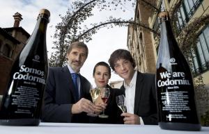 Javier Pagés, Miriam Ponsa y Jordi Cruz