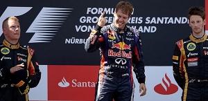 GP F1 Alemania - Vettel gana y Alonso acaba cuarto