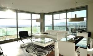 Apartamento de diseño frente al mar en Barcelona