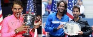 Rafa Nadal campeón del USA Open y Feliciano López y Marc López, subcampeones en dobles