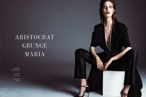 "Editorial de Moda Horse Mag ""Aristocrat Grunge"""
