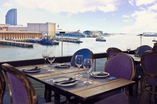 Restaurante Barítimo, un privilegiado restaurante con vistas al Port Vell de Barcelona