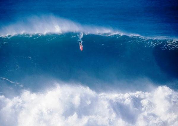 Big Wave Tour: El primer challenge de Nazaré