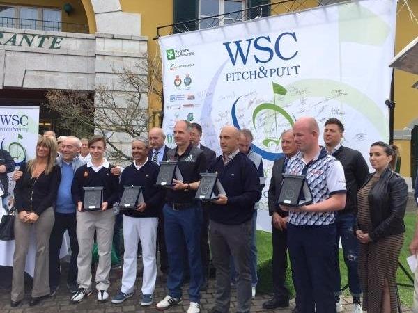 Luis Montero subcampeón, y Felipe Agustín Martín y Tomas Artigas terceros en la final del campeonato del Mundo de Pitch & Putt