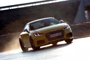 Audi TTS coupé quattro, un nuevo amanecer.